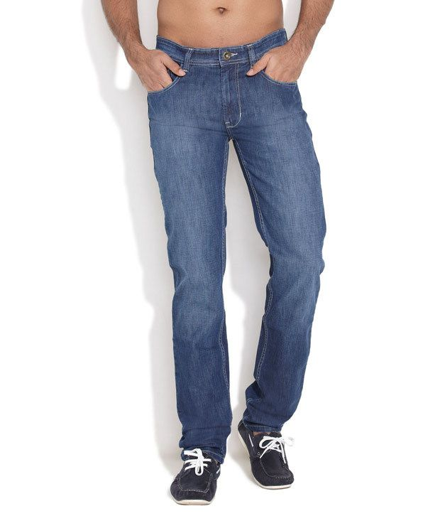 Nature Medium Blue Casual Conduct Jeans