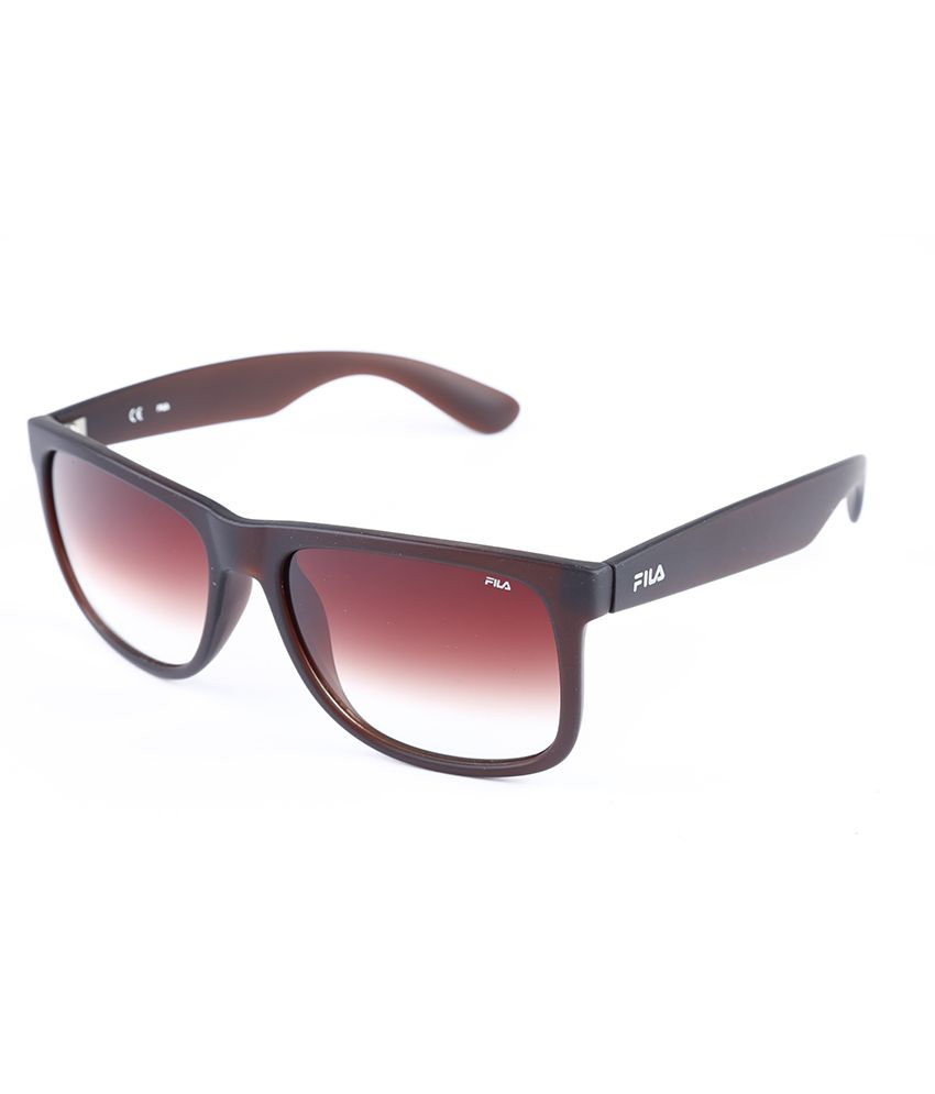 afefac06c703 Fila Brown Wayfarermen Sunglass Men Sunglass - Buy Fila Brown Wayfarermen Sunglass  Men Sunglass Online at Low Price - Snapdeal
