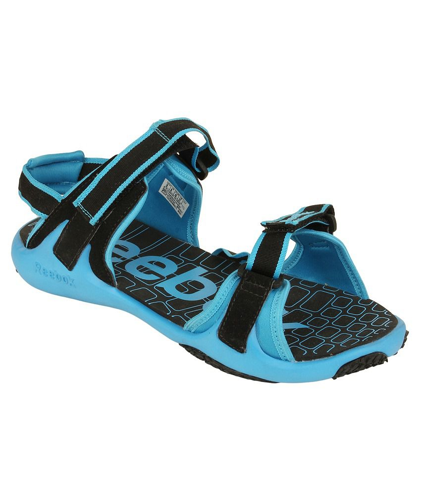 72245e1bc Reebok Blue Floater Sandals - Buy Reebok Blue Floater Sandals Online at  Best Prices in India on Snapdeal