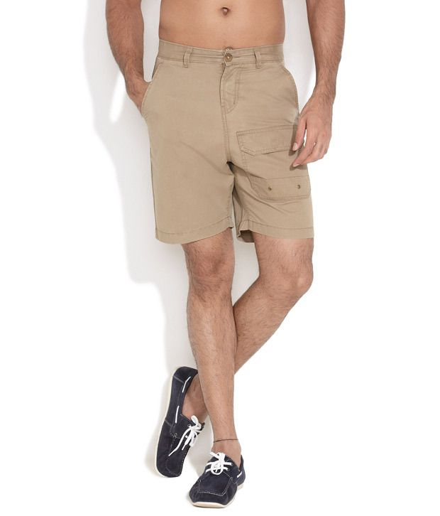 FREECULTR Natural Excess Baggage Cargo Shorts