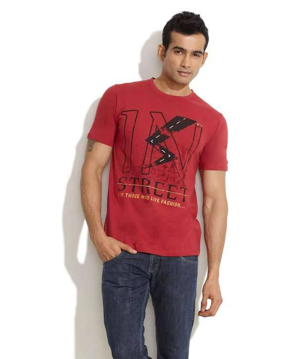 Indigo Nation Red Live In Style T-Shirt