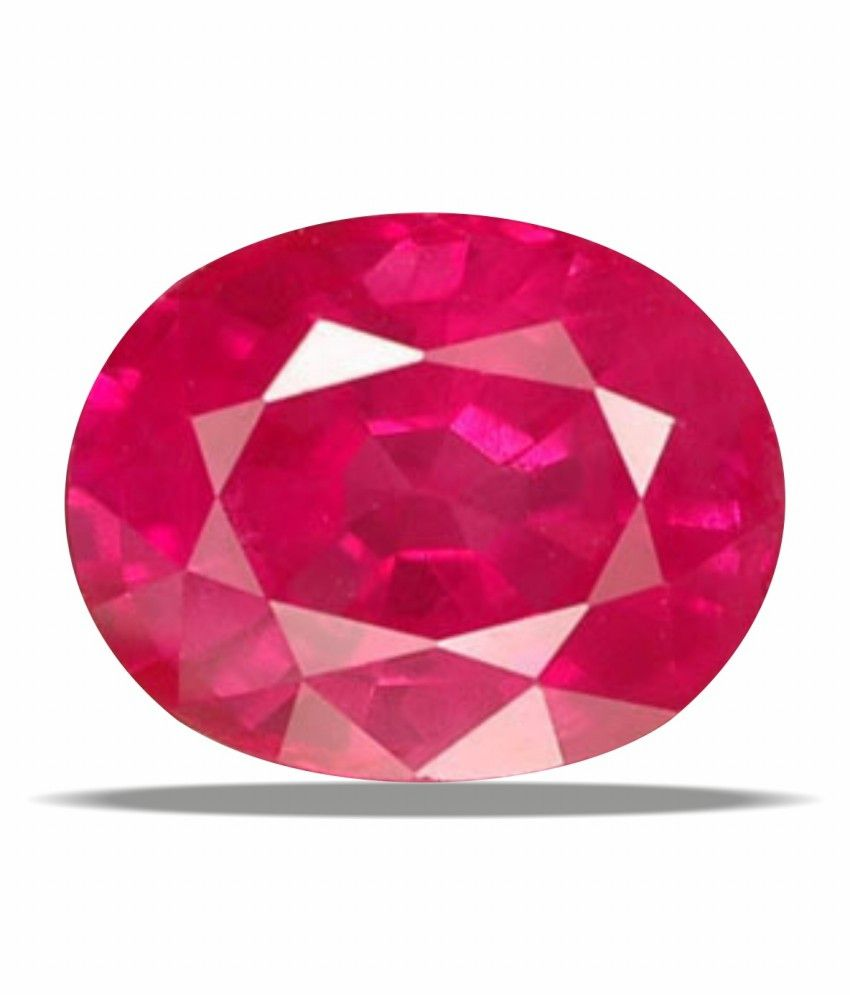 A1 Gemstones Treasures Certified Gemstone Natural Ruby(manik / Surya) Of 6.05 Ratti(5.50 Carat) ,elite Exclusive Category