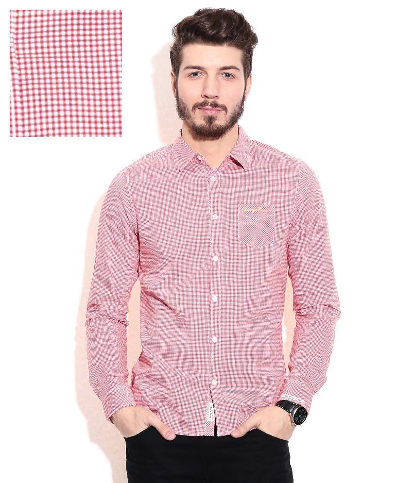 Being human pink casual shirt buy being human pink for Being human t shirts buy online india