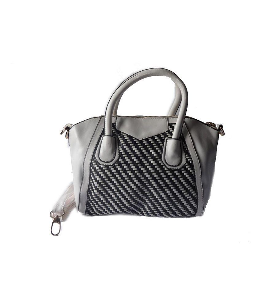 Kaprine White P.u. Woman Handbag