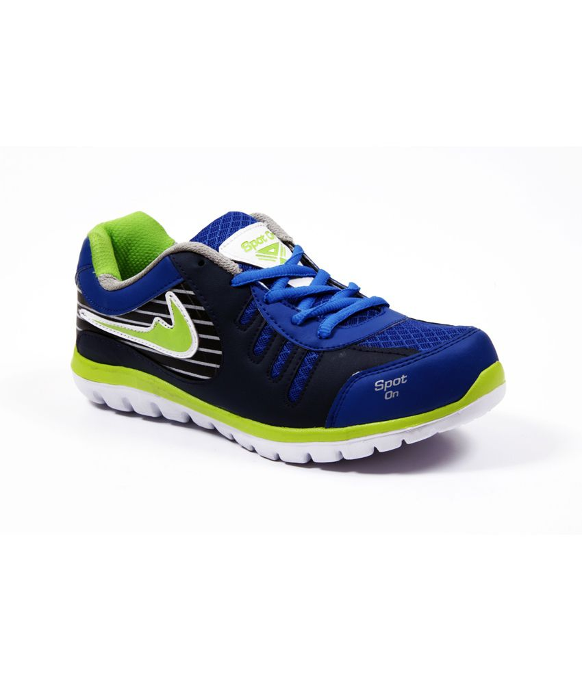 Spot On Blue Running Shoes