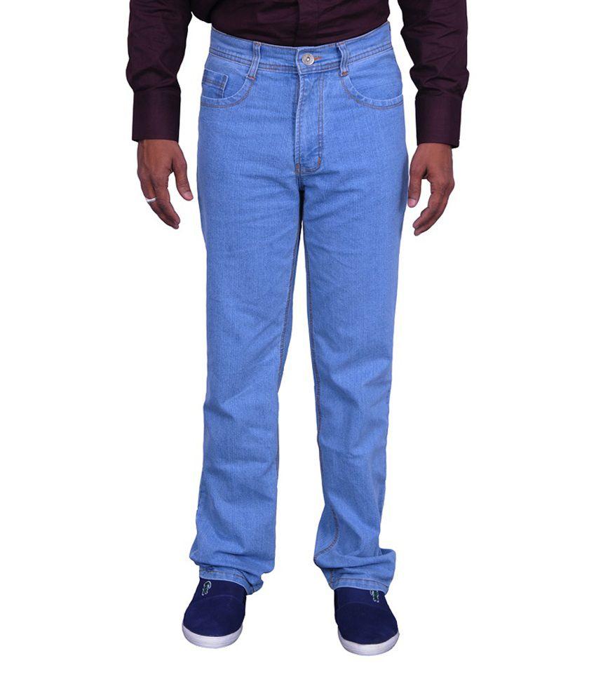 C Dot Blue Denim Jeans