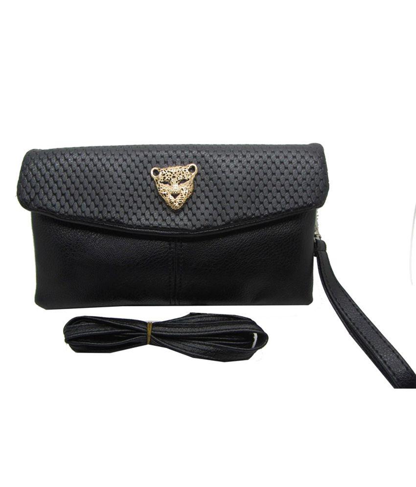 Cilver Fashion Double Zipper Womens Black Shoulder Bag