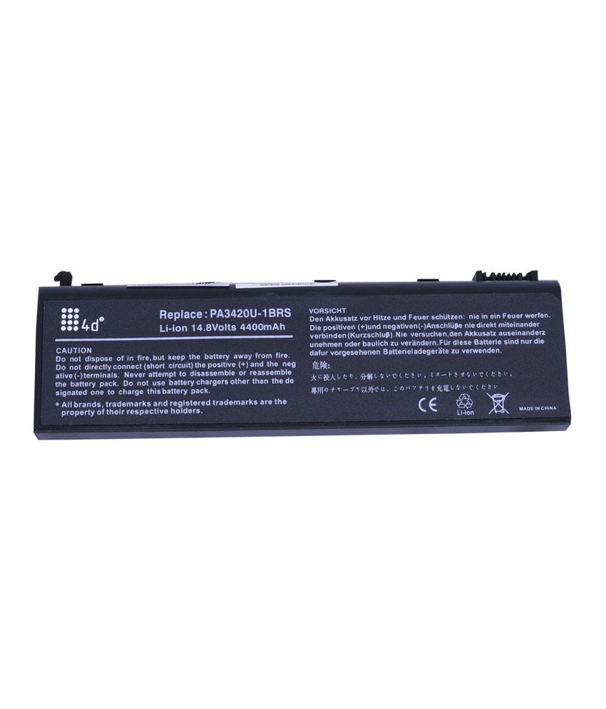 4d Toshiba L20-118 6 Cell Laptop Battery