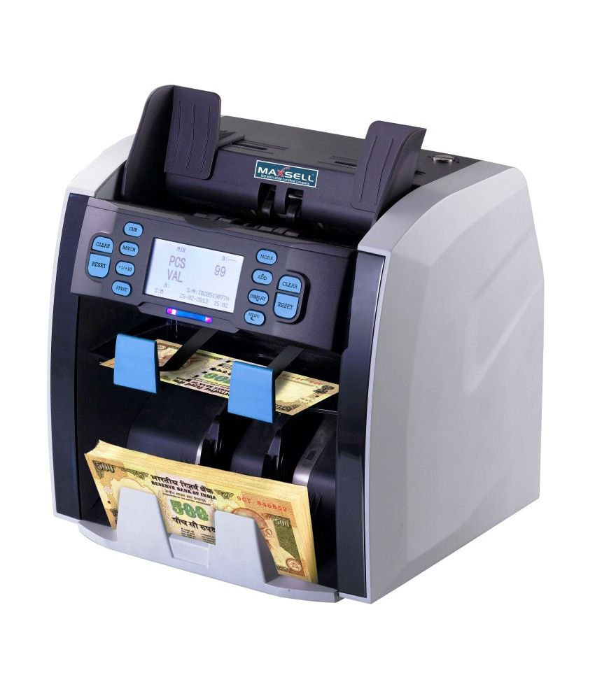 maxsell 2 pocket note sorting counting machine. Black Bedroom Furniture Sets. Home Design Ideas