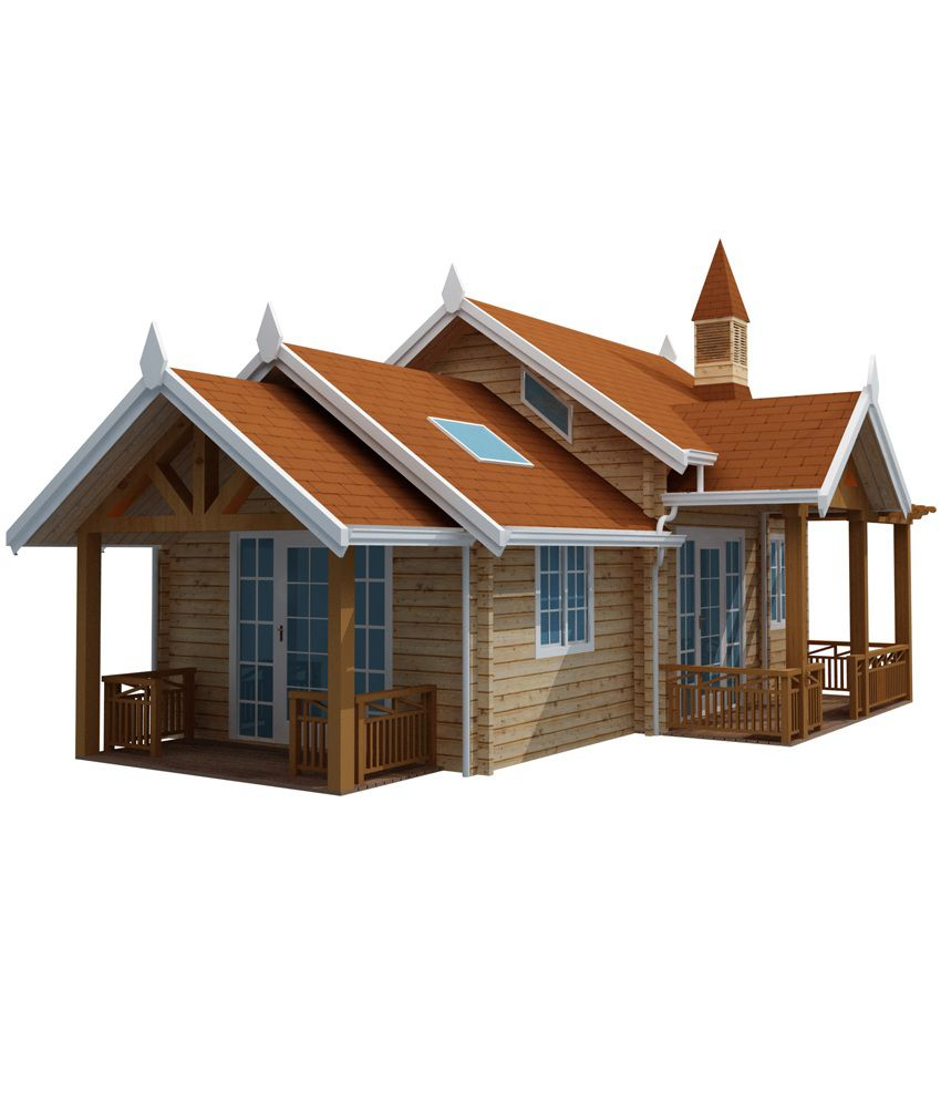 woodbarn one bhk wooden leisure house booking amount rs 20 000 rh snapdeal com