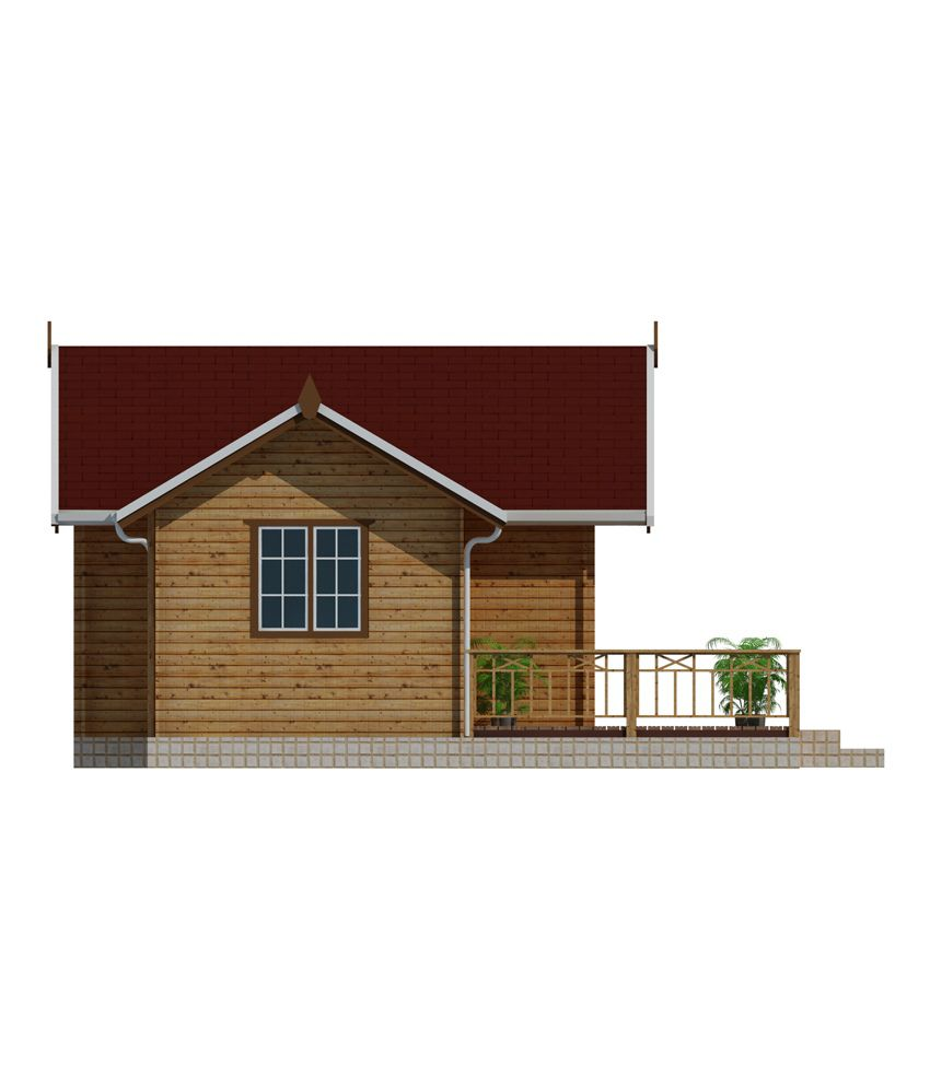 woodbarn single floor 2 bhk wooden leisure house booking amount rs rh snapdeal com