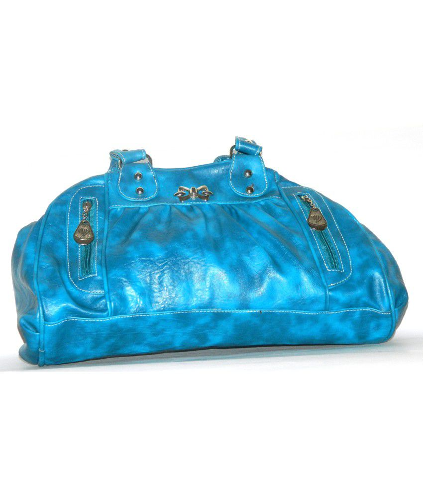 Birdy Designer Blue Shoulder Bag