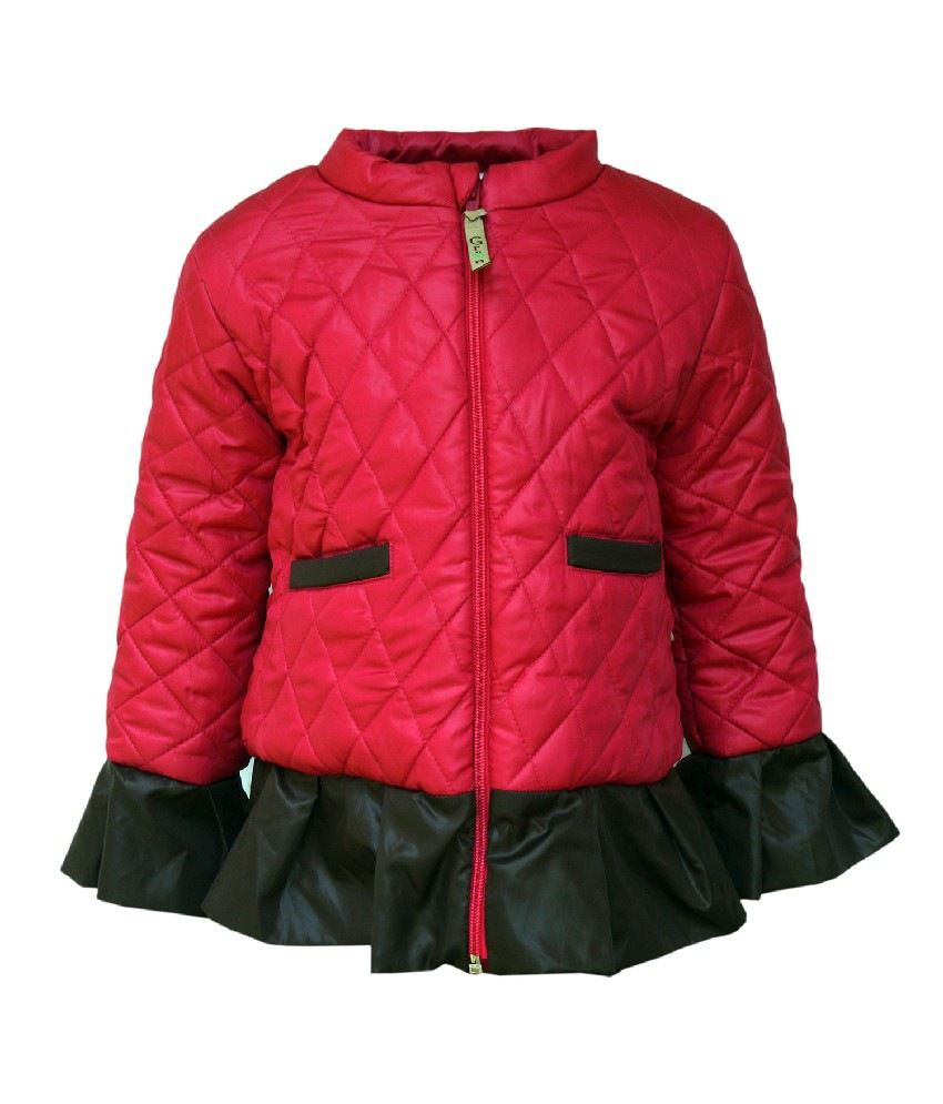 Gron Stockholm Full Sleeves Pink Color Jacket For Kids