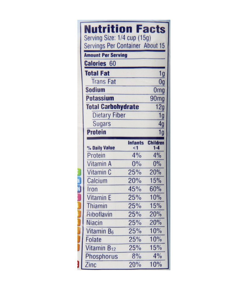 Whole Foods Veggie Chips Nutrition Facts