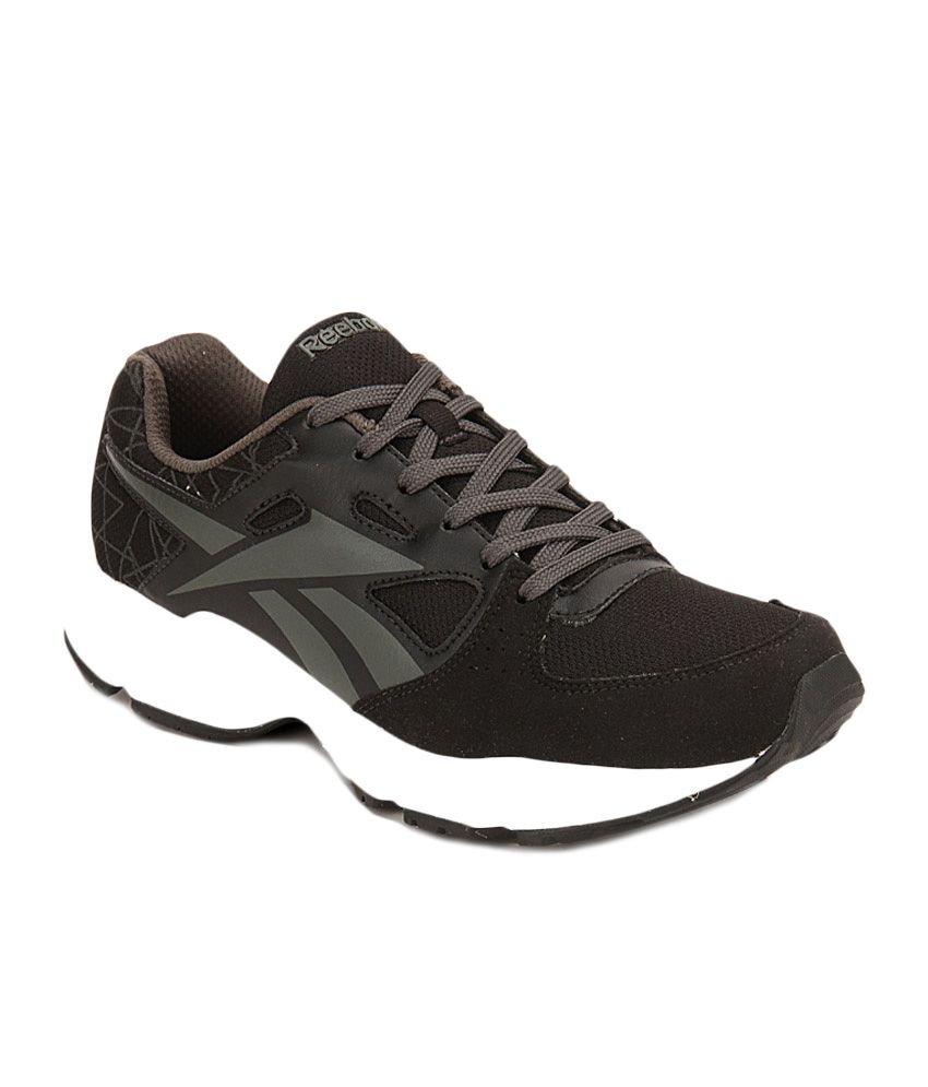 565db65cb Reebok Run Tech Speed Lp Black Running Shoes - Buy Reebok Run Tech Speed Lp  Black Running Shoes Online at Best Prices in India on Snapdeal