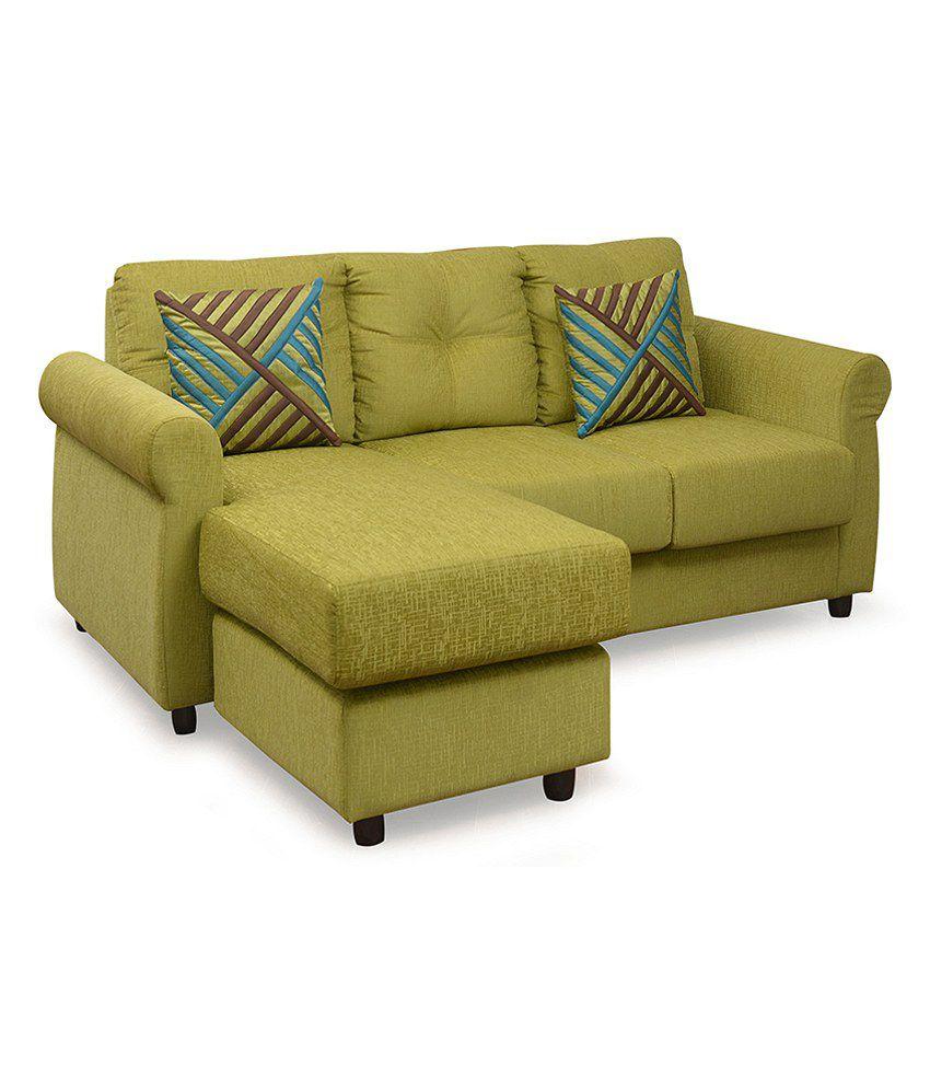 Robin 2 Seater Sofa With Lounger   @home Nilkamal ...
