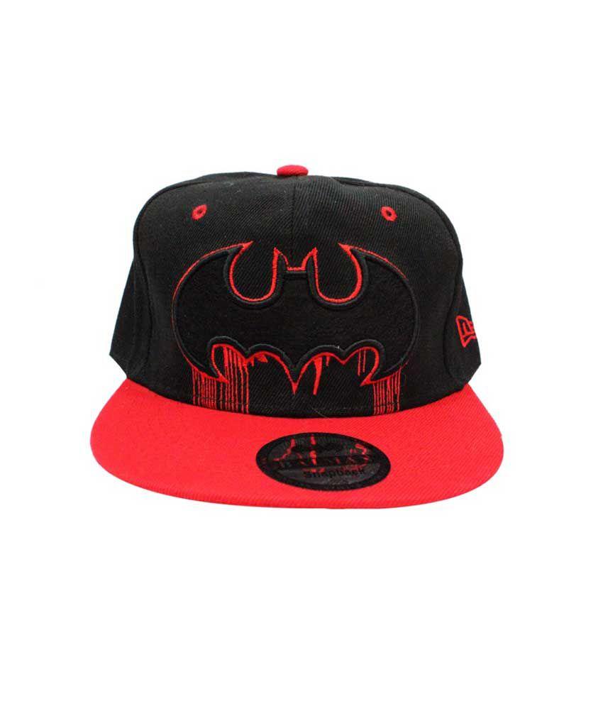 Takeincart Black Batman Snapback   Hiphop Cap - Buy Online   Rs ... 38e68b9c749d