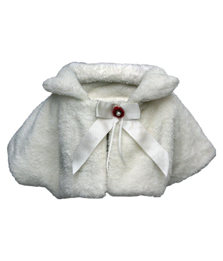 Gron Stockholm Regon Sleeves Off White Color Jacket For Kids