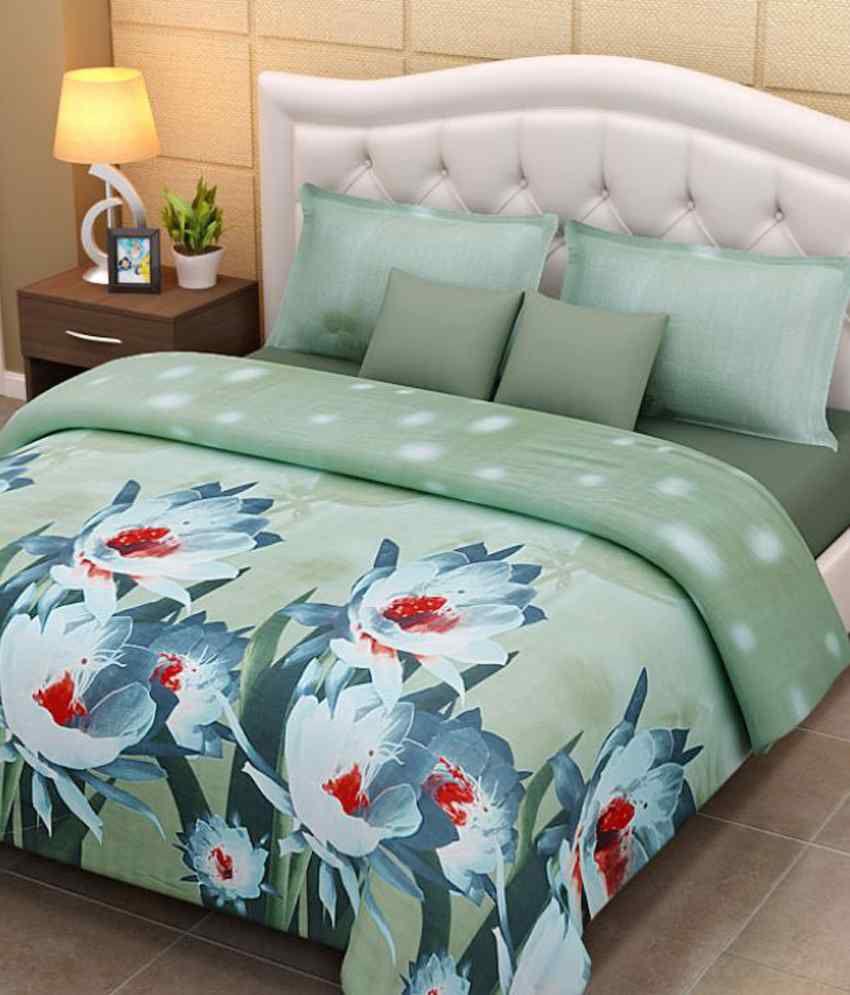 Home Creations Extra Soft 3d Bedsheet ...