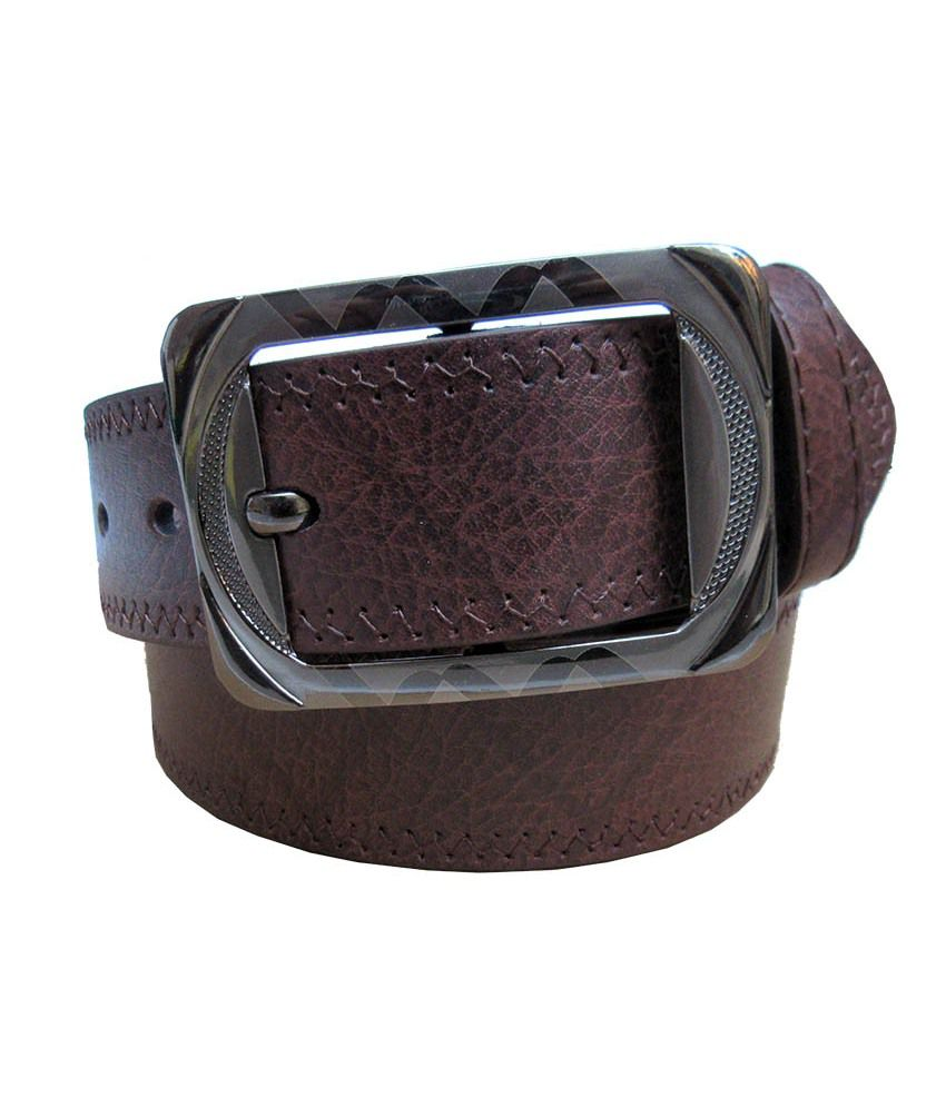 Urfashion Brown Single Casual Belt For Men