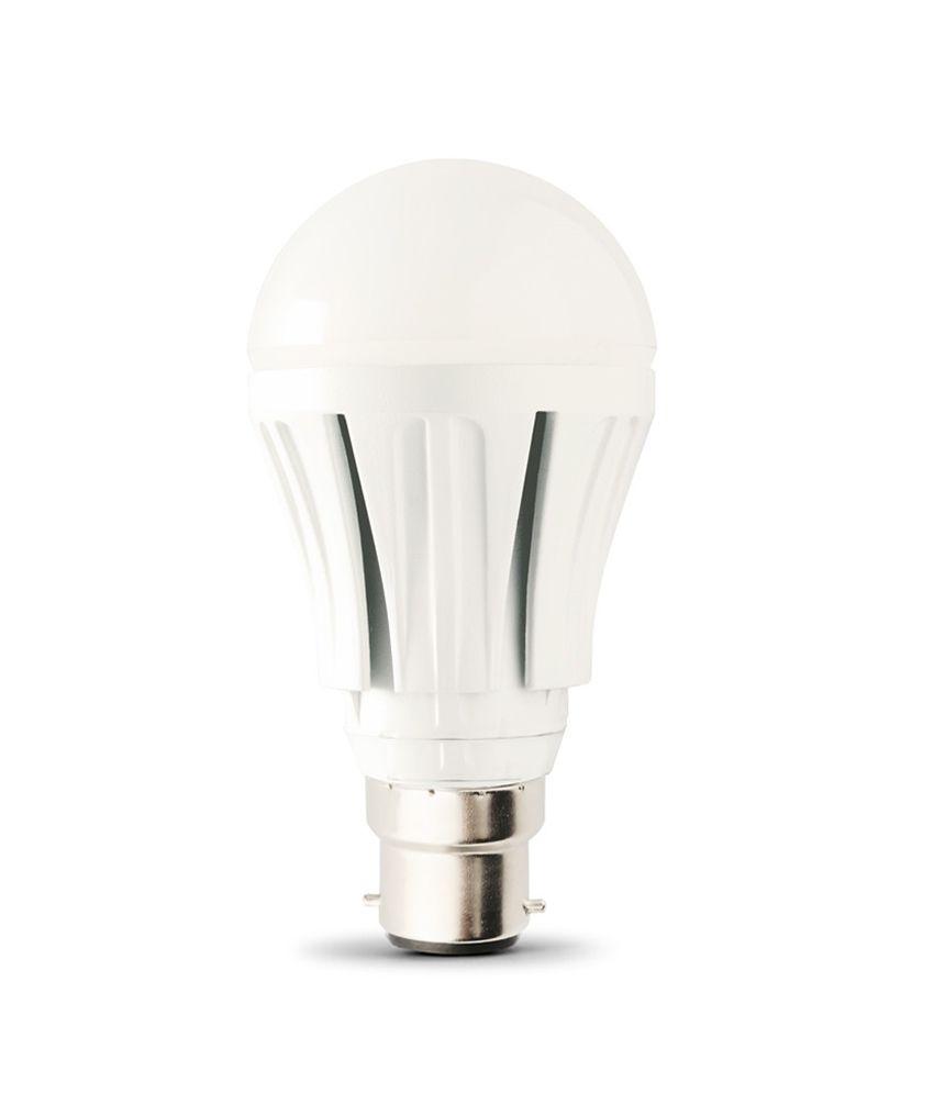 Urja Round White Bulb 10 Watt