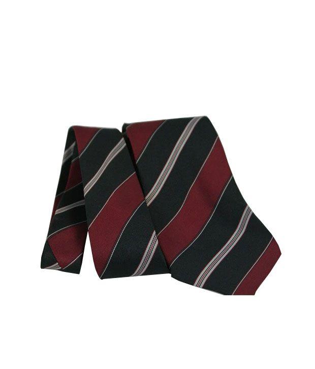 Wintex Black Micro Fiber Formal Regular Tie