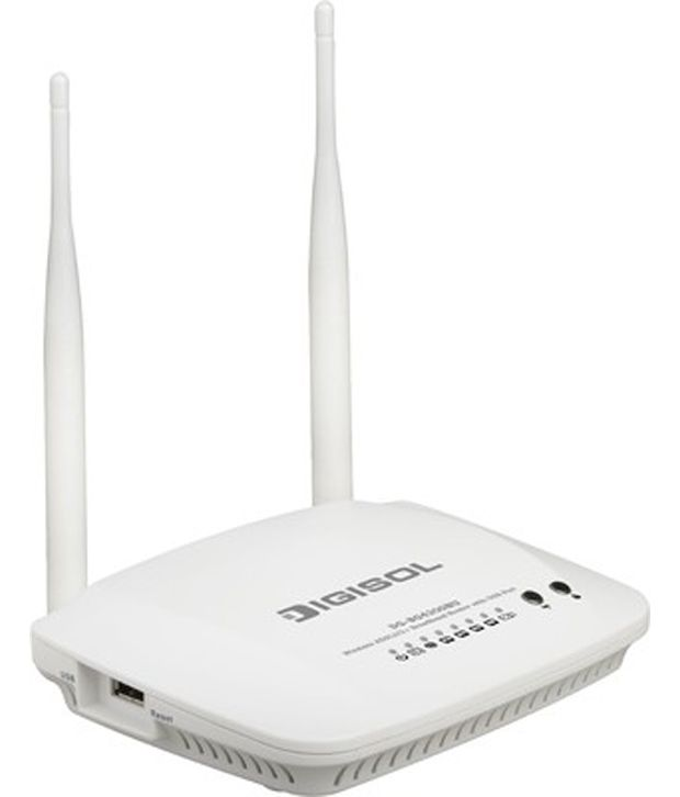 Digisol Dg-Bg4300Nu Adsl2+ Wireless Router 300MbpsWireless Routers Without Modem