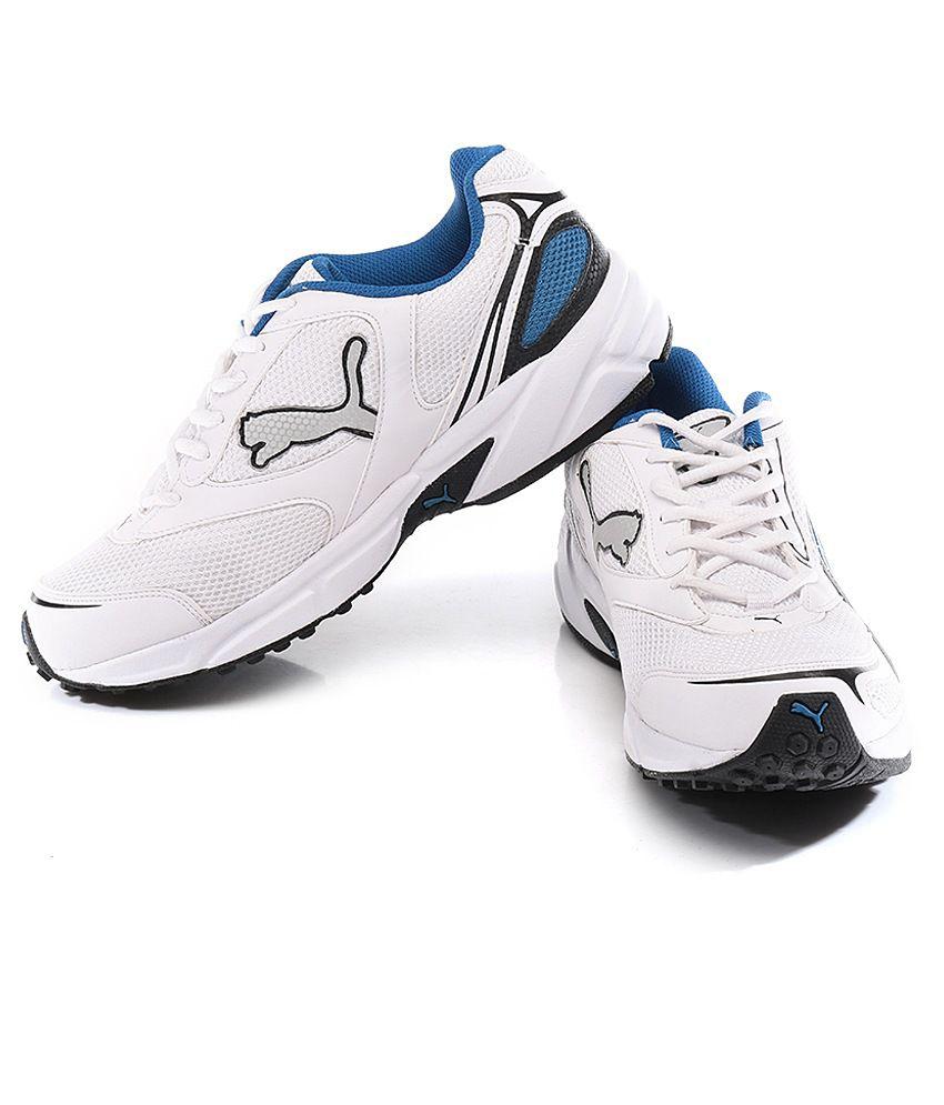 0cbde94a438 Puma Aron Ind. White Sport Shoes