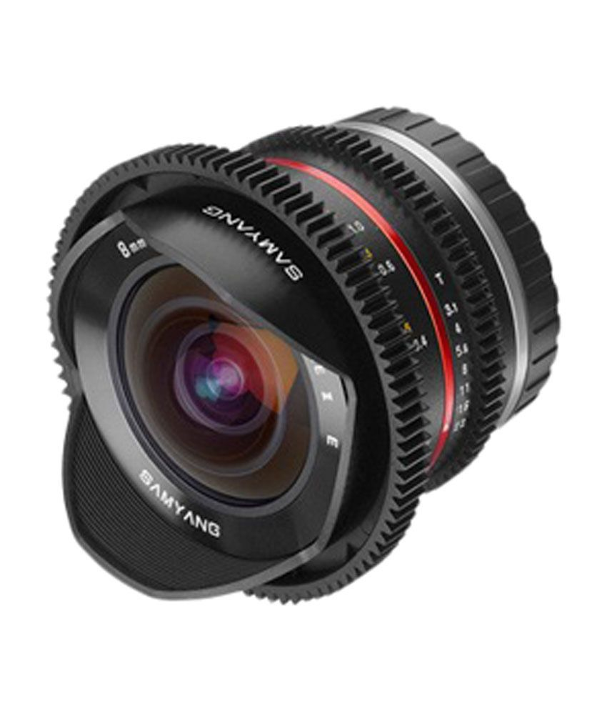 Samyang 8 mm T3.1 FOR CANON M,FUJI X,SONY NEX