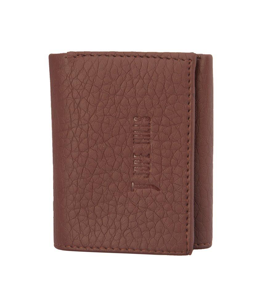 Jope Hill Cherry Non Leather Tri-fold Women Wallet