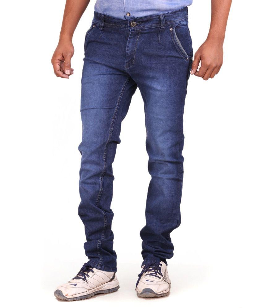 Hanspro Impex Private Limited Blue Cotton Blend Men Jeans