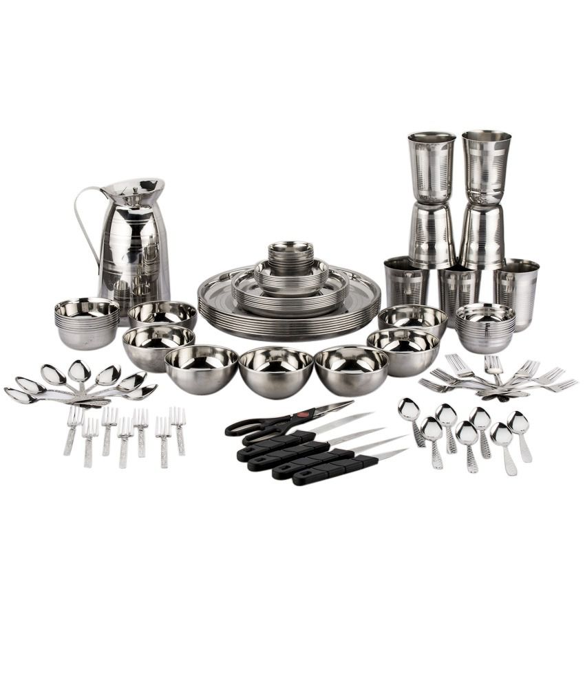 HD wallpapers buy steel dinner set online india