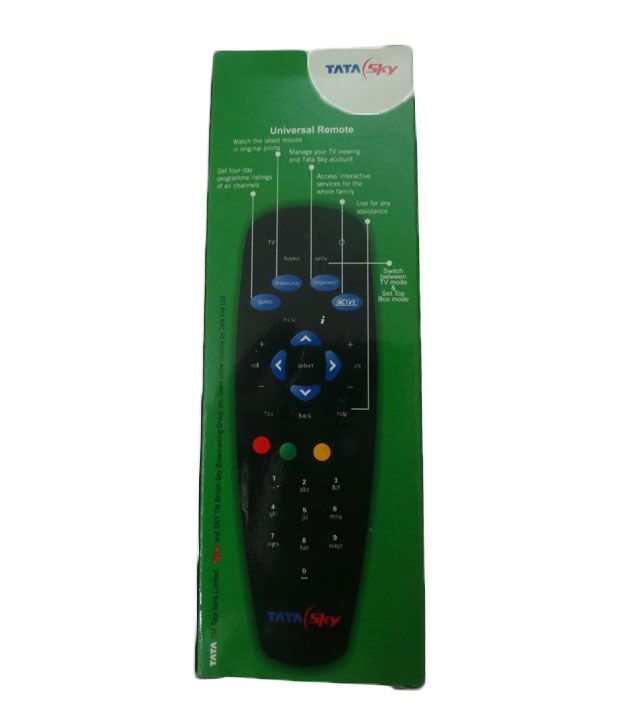 Free Scratch Cards >> Buy Tata Sky Universal Remote Online at Best Price in ...