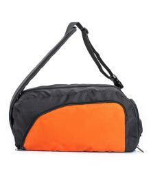 Bagsrus Polyester Duffle Bag - Orange