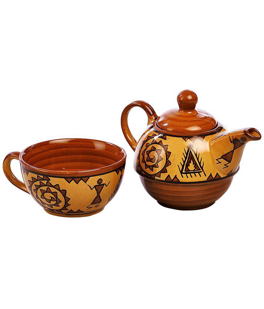 cultural concepts warli one cup kettle buy online at best. Black Bedroom Furniture Sets. Home Design Ideas