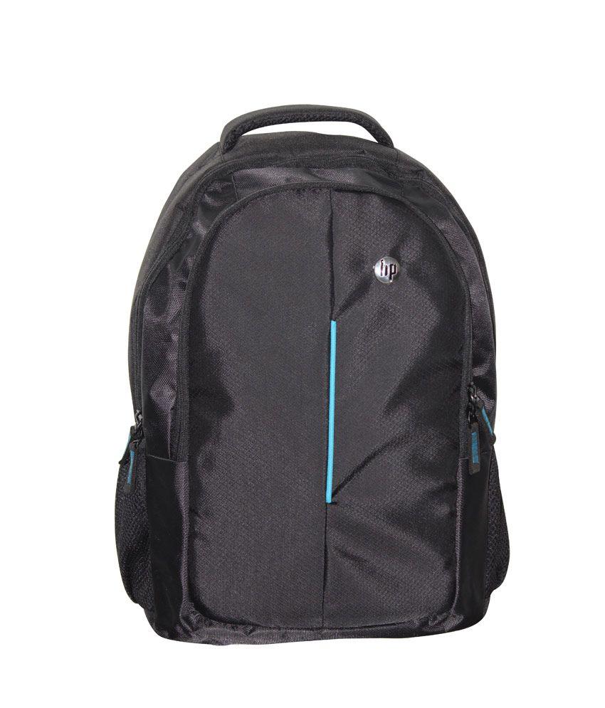 Relideals Black Hp Stat Laptop Bag