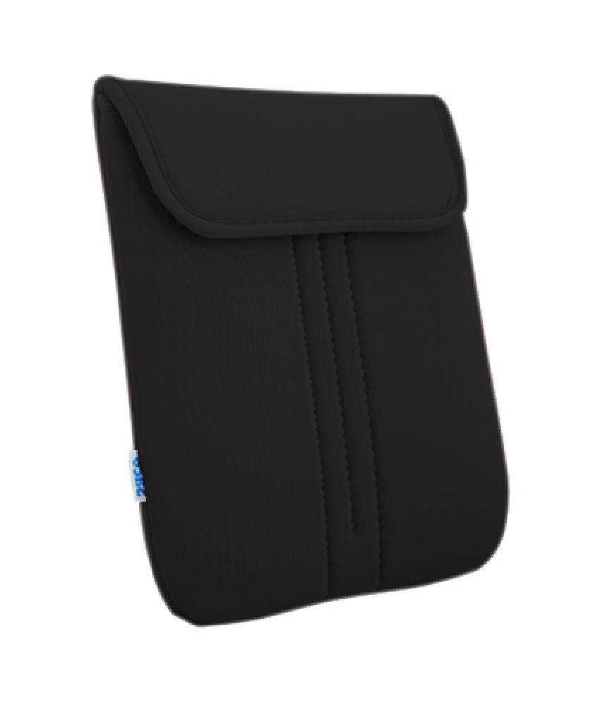 Saco Top Open Laptop Bag For Hp E1q79pa Laptop - Black
