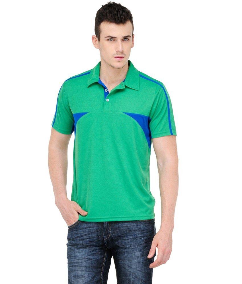 Yepme Green Cotton T-shirt