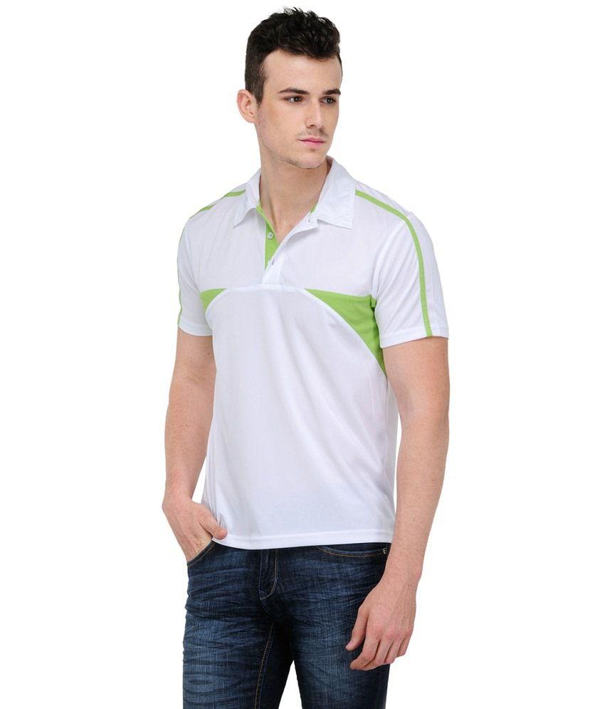 Yepme White Cotton T-shirt