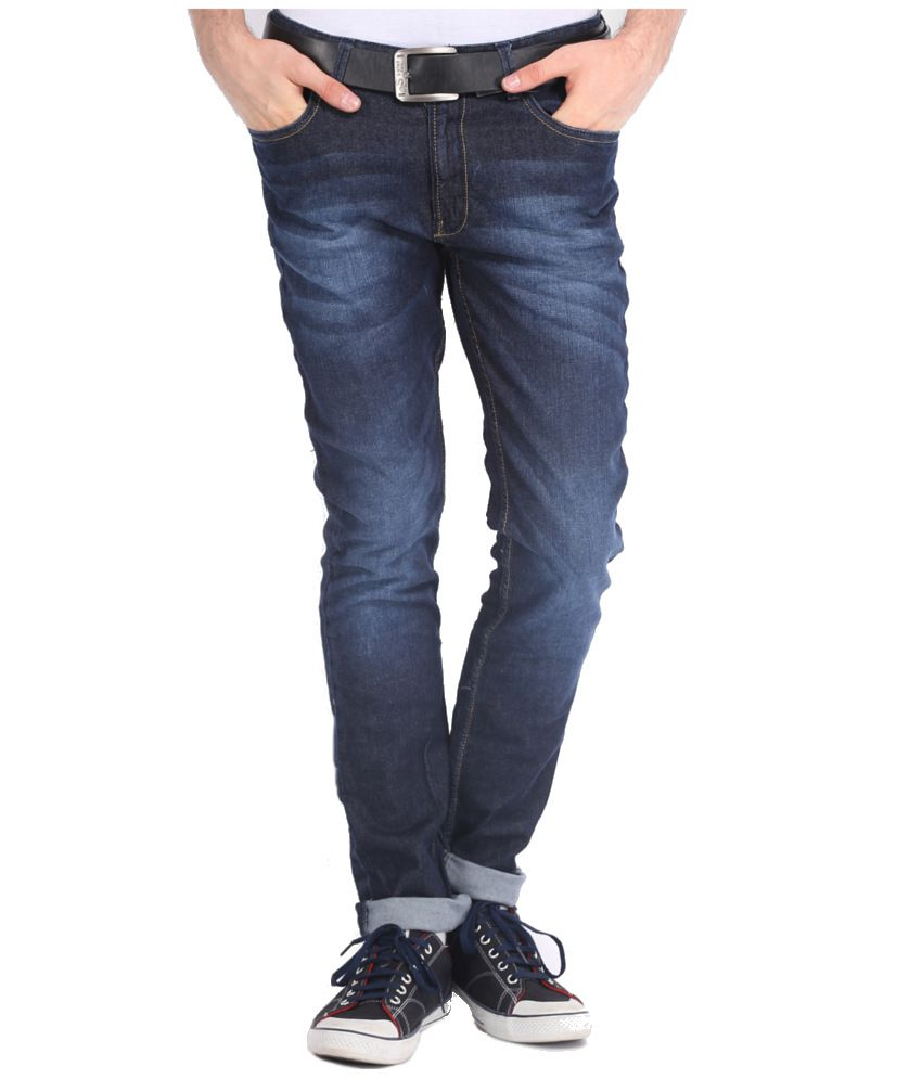 Locomotive Navy Slim Jeans