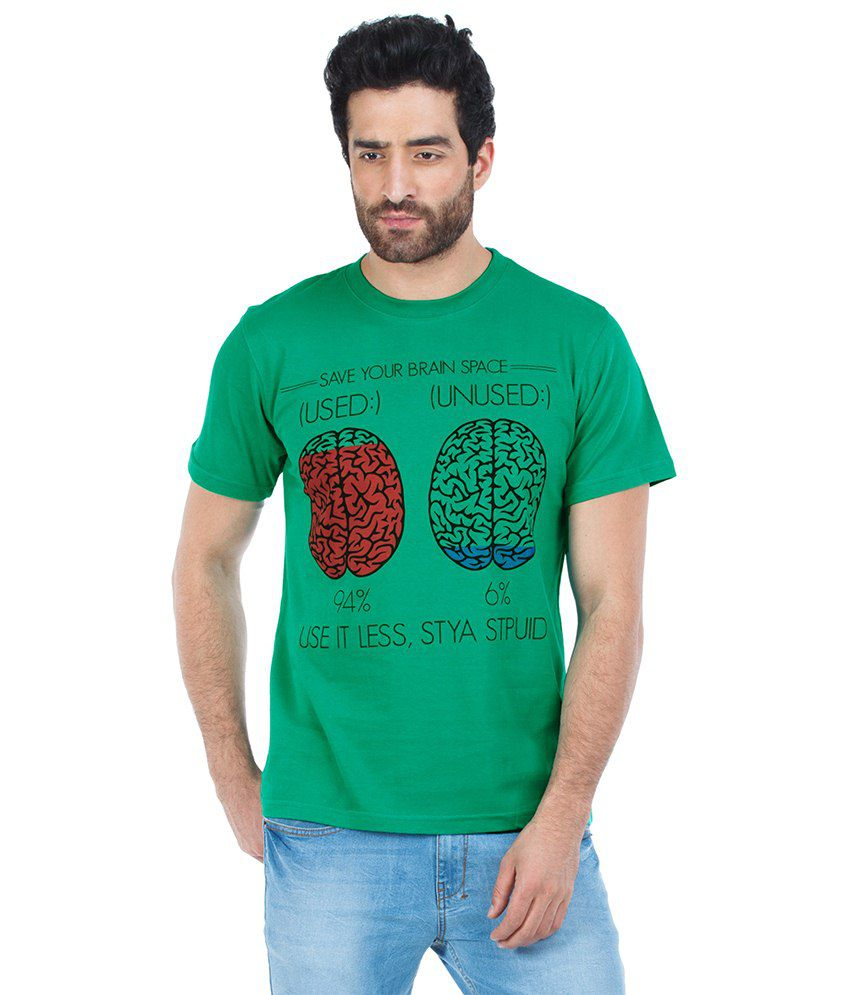 Zovi Green Cotton T-shirt