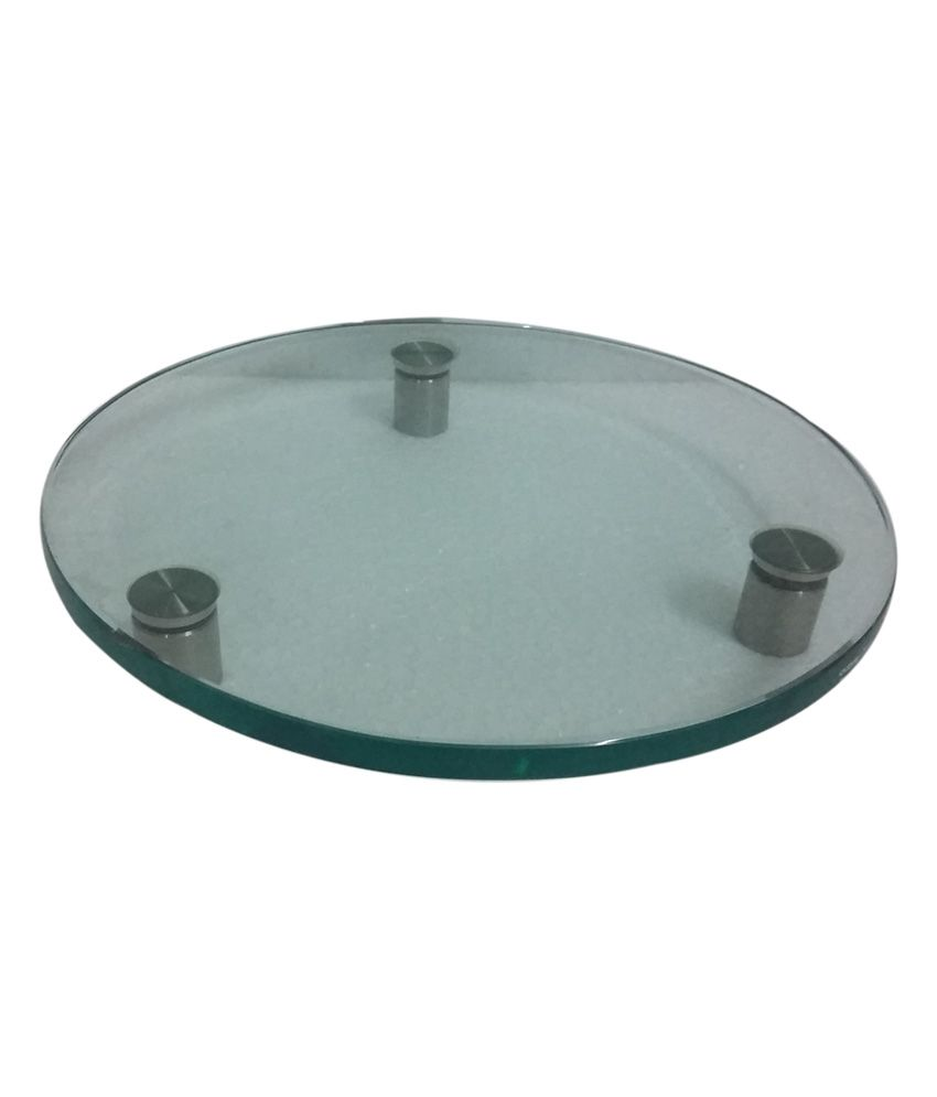 Gobind Glass Works Unbreakable Clear Glass (chakla / Patta) For Flattening Chapati