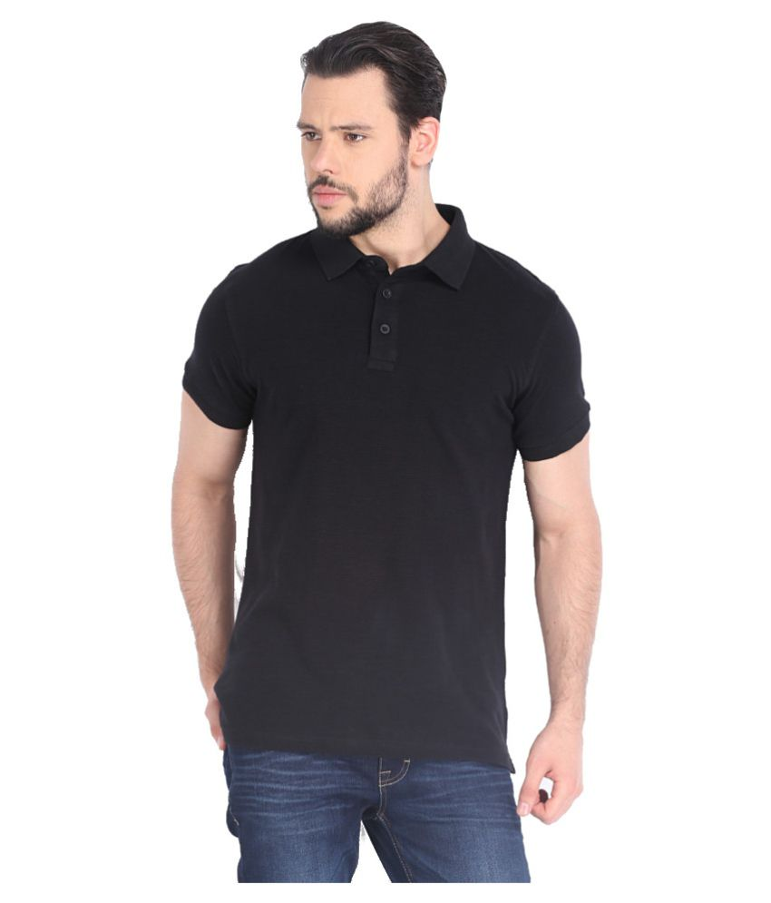 Highlander Black Cotton T shirt