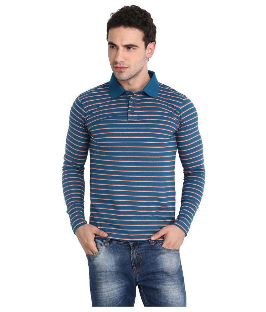 Highlander Blue Cotton T shirt