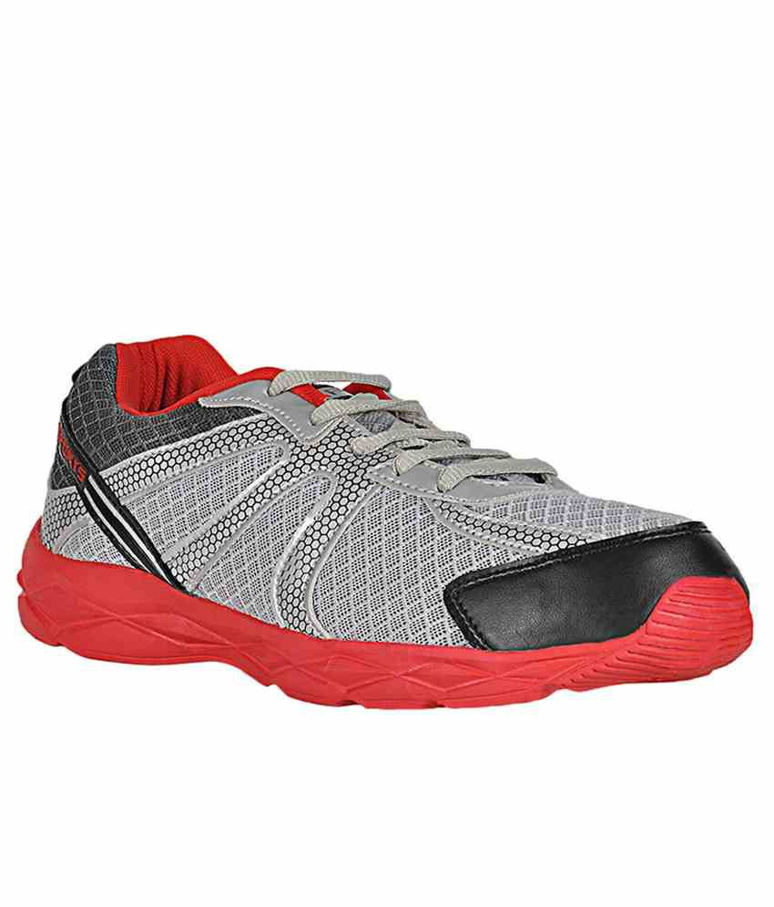 Ethics Tracer Sports Shoes-red & Gray  available at snapdeal for Rs.613