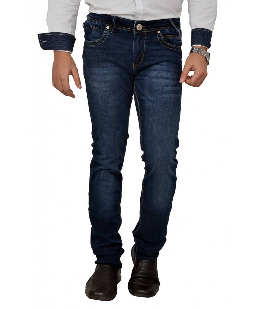 Passport Indigo Tappered Fit Jeans