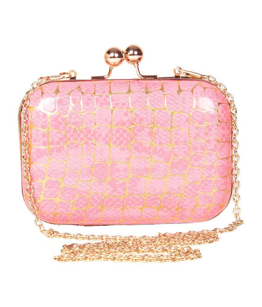 Trend Berry Tb-309 Pink Clutch