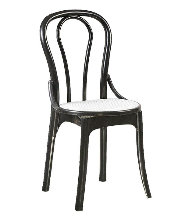 supreme pearl cane without arm chairs set of 6 chairs black buy