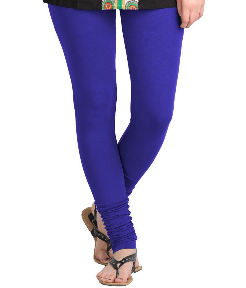 Go Colors Blue Blended Leggings Price in India - Buy Go Colors Blue Blended Leggings Online at ...