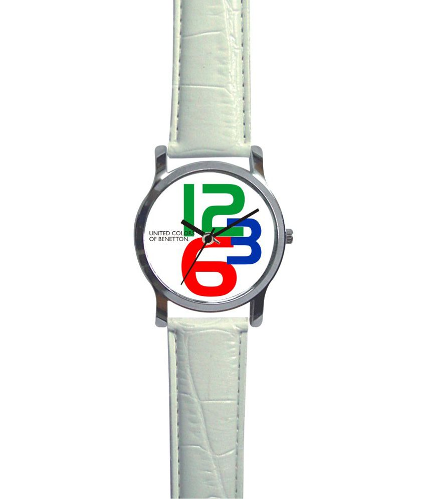 United colors of benetton 3 digit watch buy united for Benetton we are colors